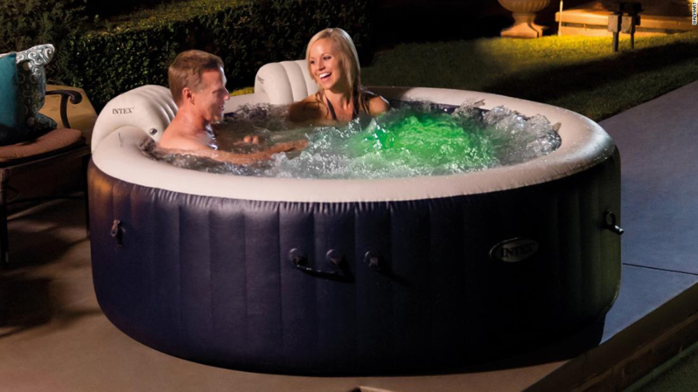 Inflatable Hot Tubs That Bring The Spa To Your Backyard Cnn Underscored Hot Tub Outdoor Spas Hot Tubs Best Inflatable Hot Tub
