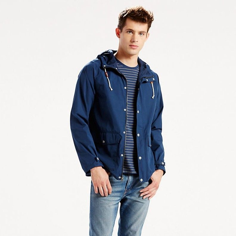 LEVI'S LIGHT WEIGHT SUTRO PARKA - DRESS BLUES. #levis #cloth #all ...