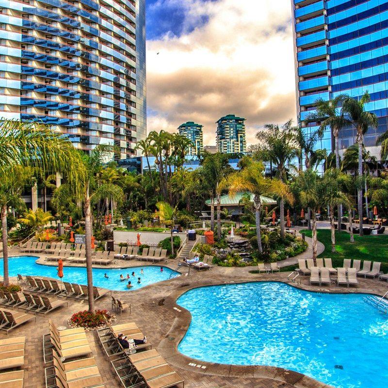 Marriott Marquis San Diego Marina San Diego Hotels San Diego Resorts San Diego Travel