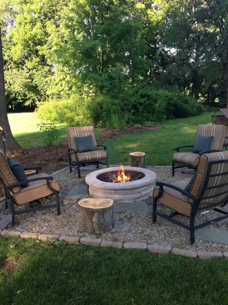 33 creative fire pit for your backyard landscaping ideas 1 on backyard fire pit landscaping id=60903