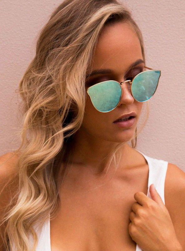 483e24077ad68 Quay All My Love Sunglasses Gold Blue