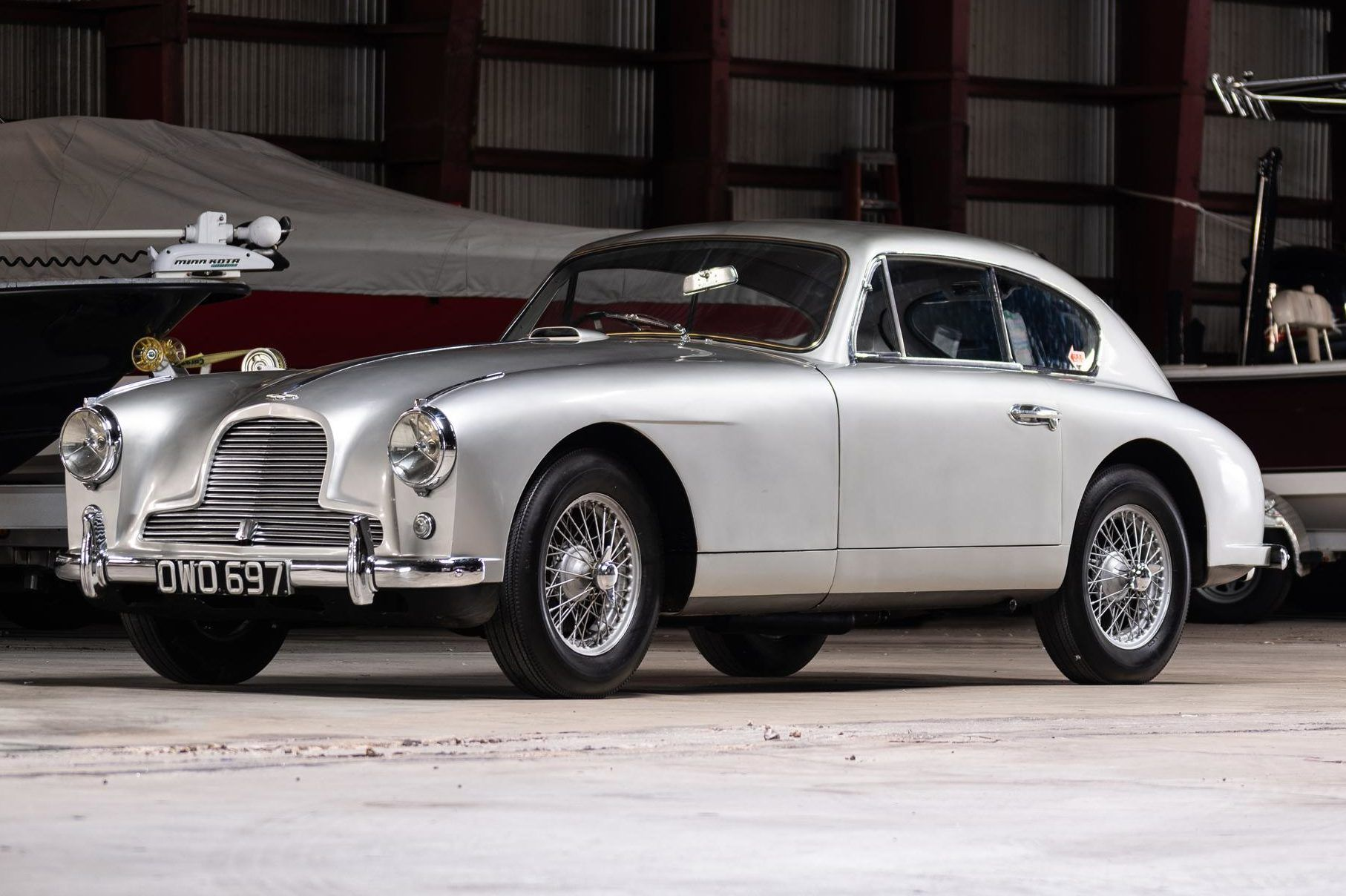 1955 Aston Martin DB2/4 Saloon