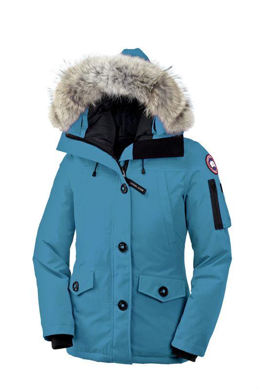 canada goose blue ski jacket