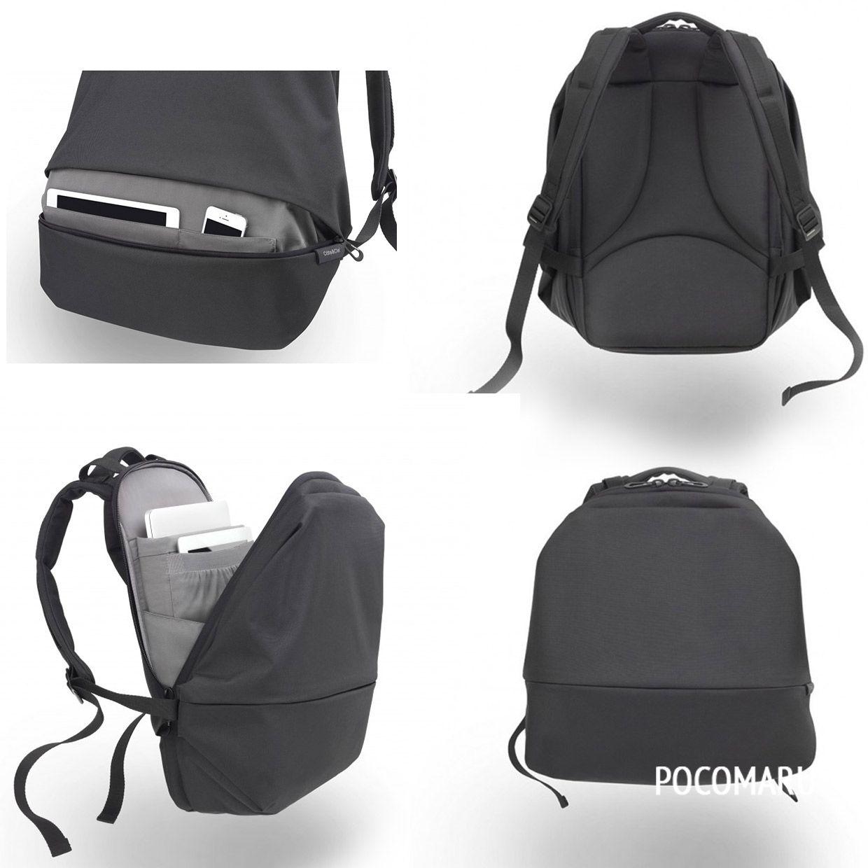 Diy laptop backpack - Cote Ciel Meuse Backpack Black 210 00 Now Featured On Pocomaru