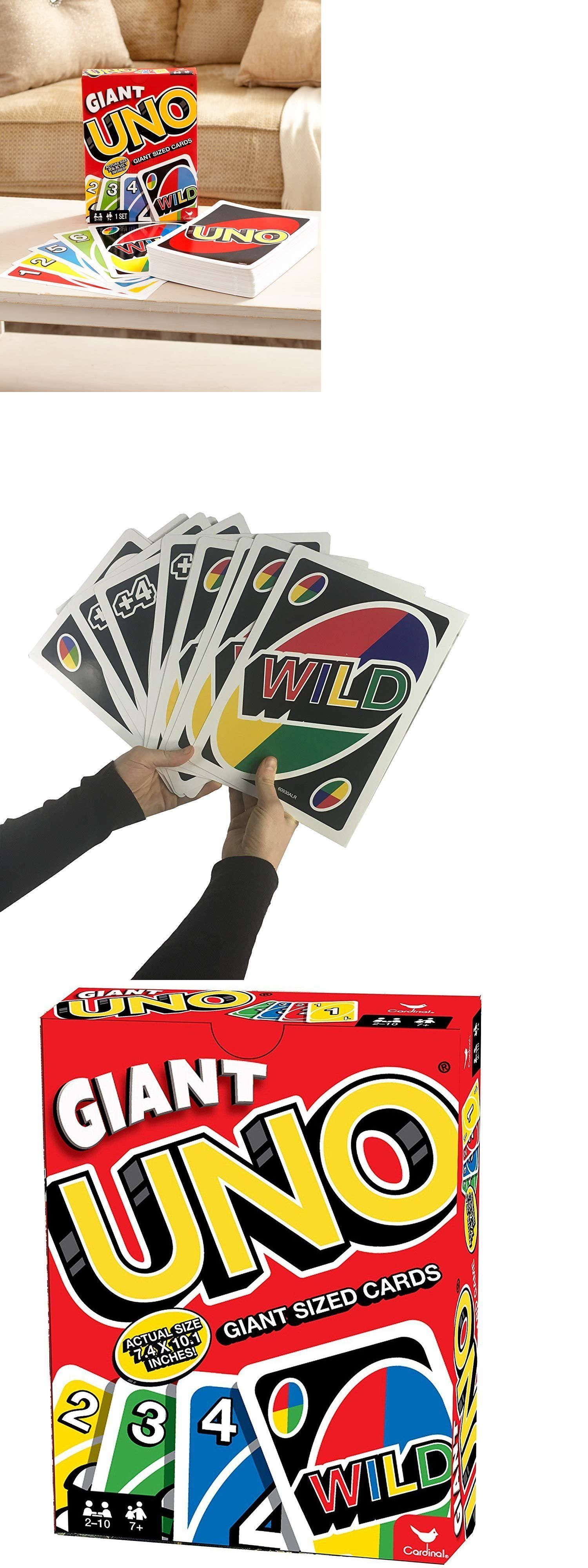 Card Games and Poker 180350 Giant Oversized Uno Cards