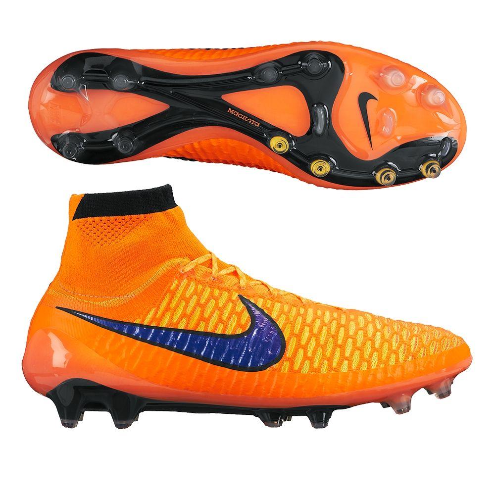 Nike Magista Obra II FG Noir Orange