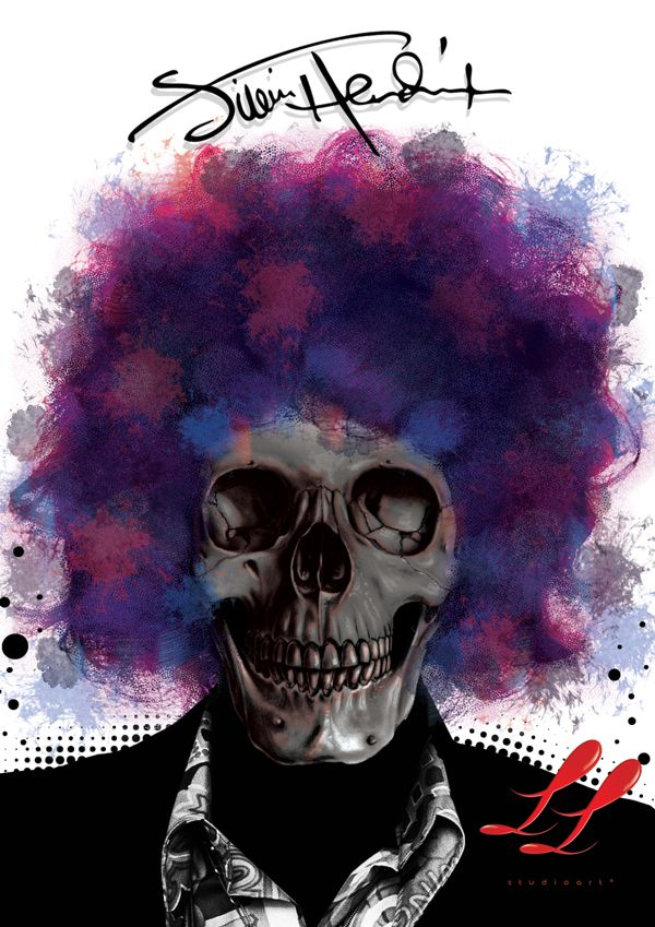 Awesome Deaths of Music by Leandro TOG Leite, via Behance