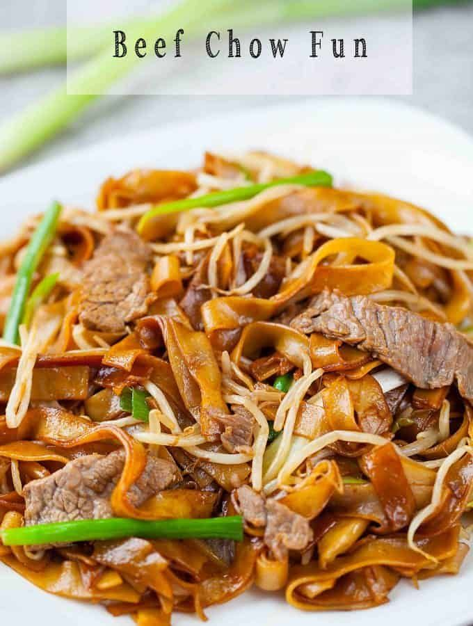 Beef Chow Fun (乾炒牛河) Gon Chow Ngau Ho | Oh My Food Recipes - #hawaiianfoodrecipes - Beef Chow Fun (乾炒牛河) Gon Chow Ngau Ho | Oh My Food Recipes... #hawaiianfoodrecipes