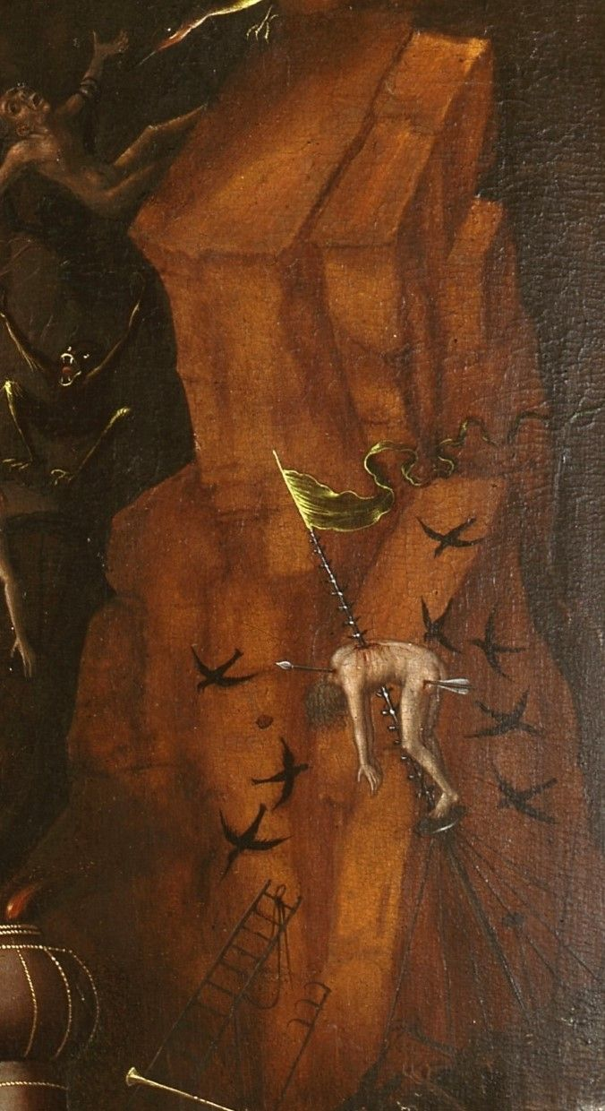 Lucas Cranach the Elder after Jheronimus Bosch - The Last Judgment. Detail.  1524 - 1520