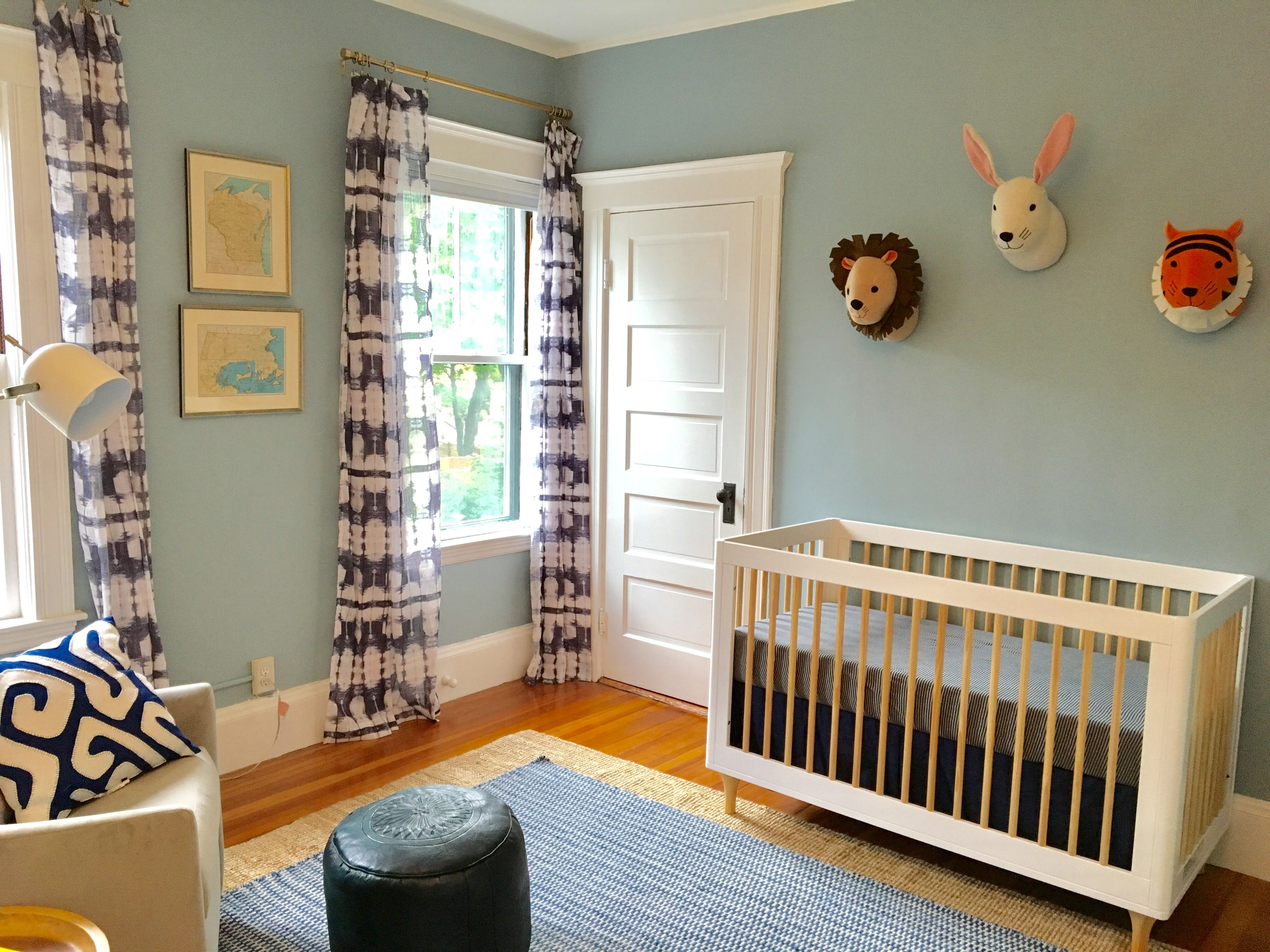 Babyletto crib, CB2 curtains Babyletto crib, Cribs, Home