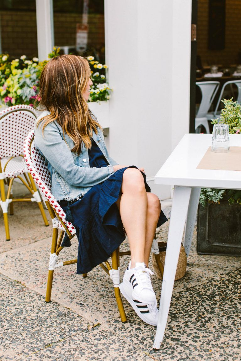 The Best Sneakers To Wear With Dresses