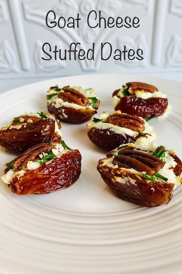 Stuffed Dates Party Appetizers #partyappetizers