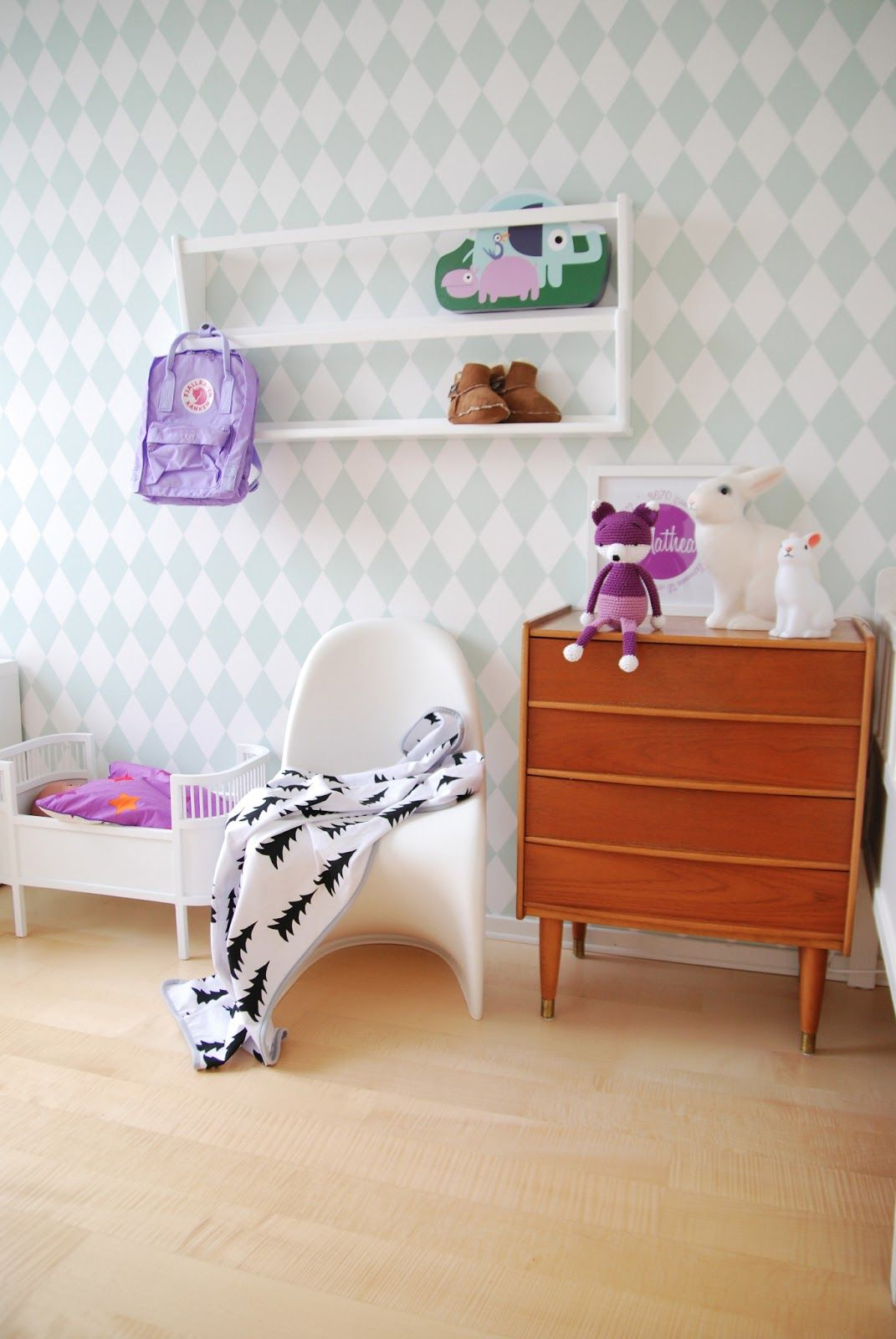 FargeBarn: Minsta sitt rom