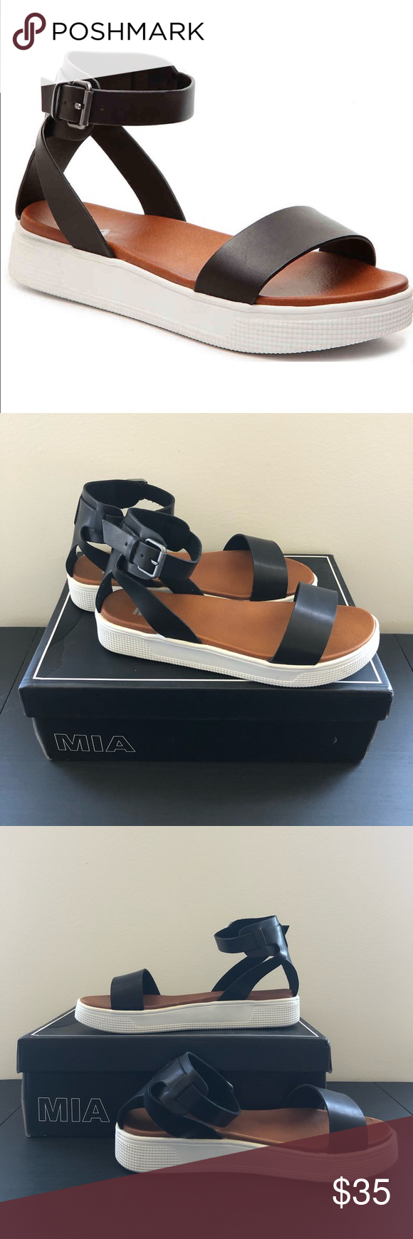 3e3d4839565 Mia Ellen Sandal Missing your platforms from the 90s  These Mia platform  sandals are the perfect