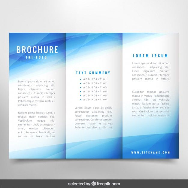 Pin by claudia argudin on printables Pinterest Brochures - blank brochure