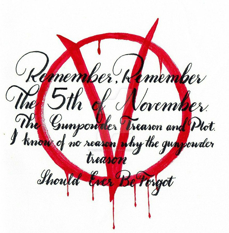 Remember Remember The 5th Of November By Tentenation