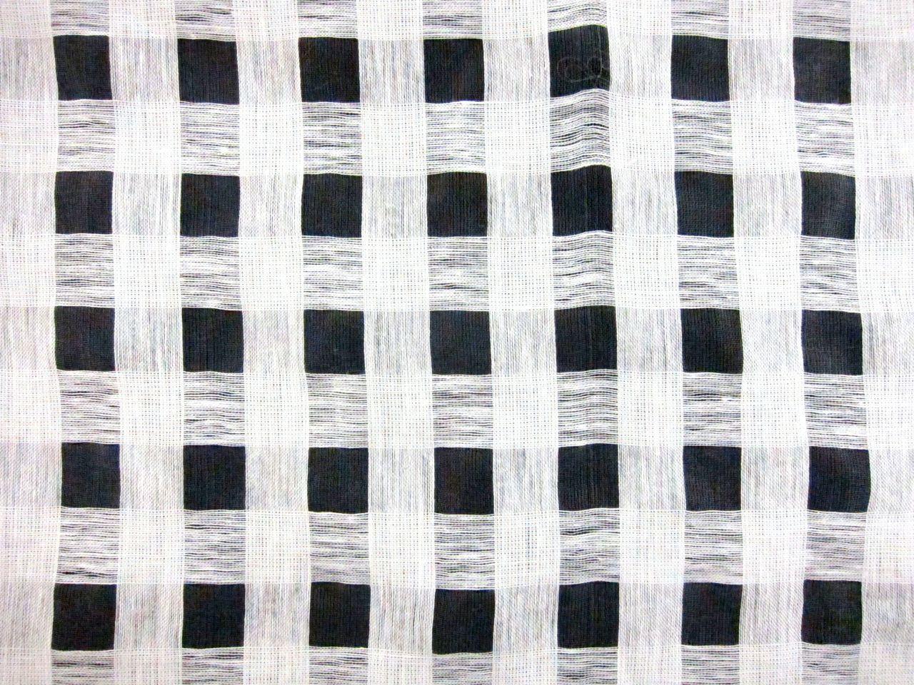 Linen Nylon Novelty Mesh in White