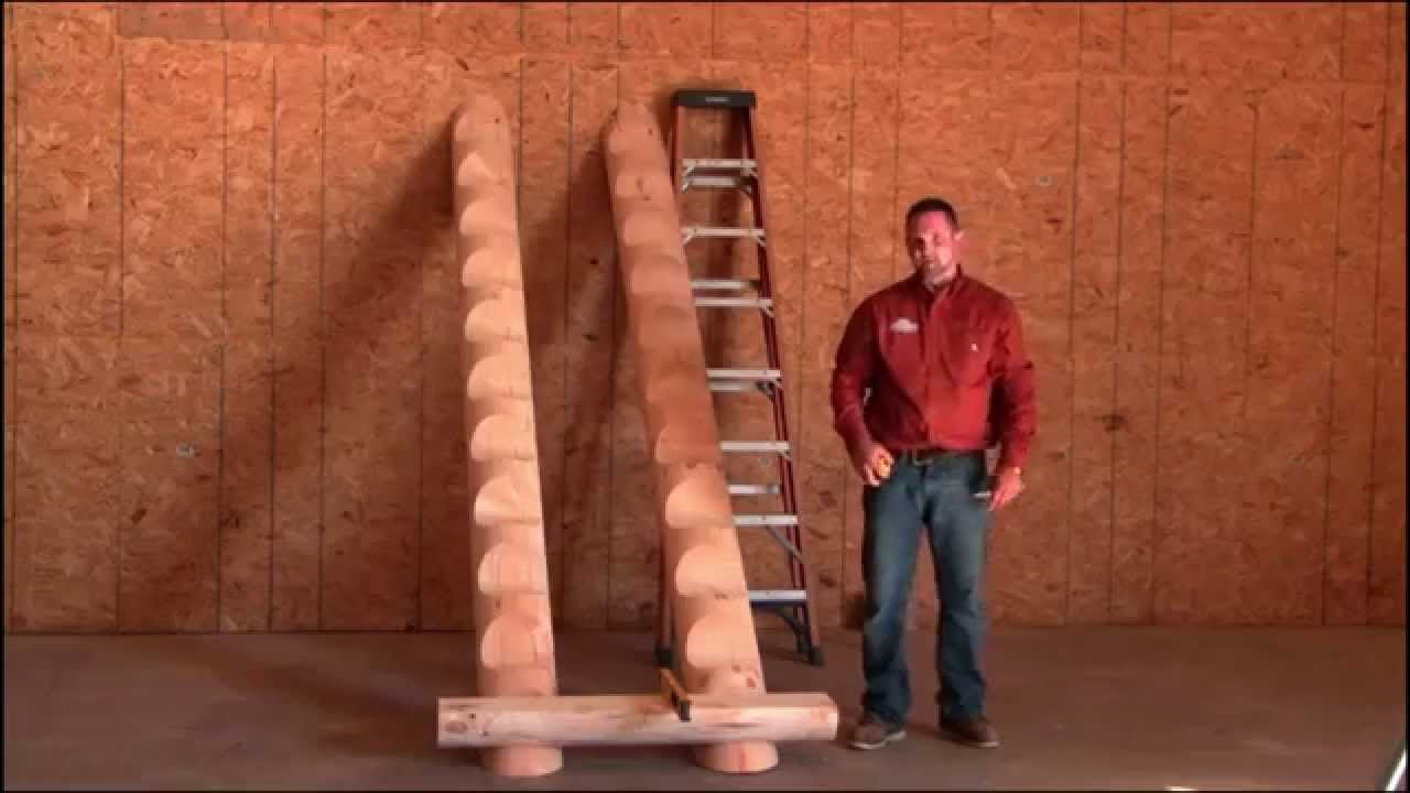 Best Northern Log Supply How To Install A Log Staircase 400 x 300