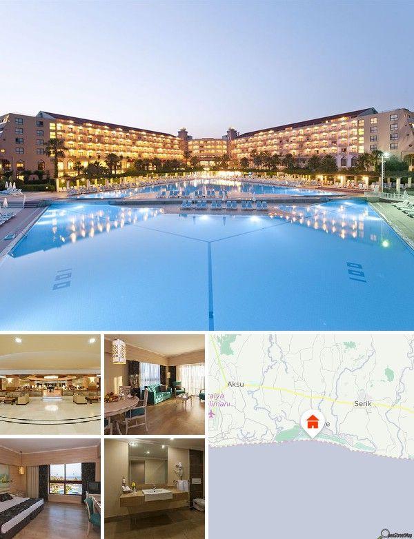 L'hotel è ubicato nei pressi di una grande pineta a Belek, a 2,5 chilometri da Kadriye. Dista 35 chilometri da Antalya e da Side, 70 chilometri da Kemer e Termesos e 25 chilometri dall'aeroporto di Antalya.