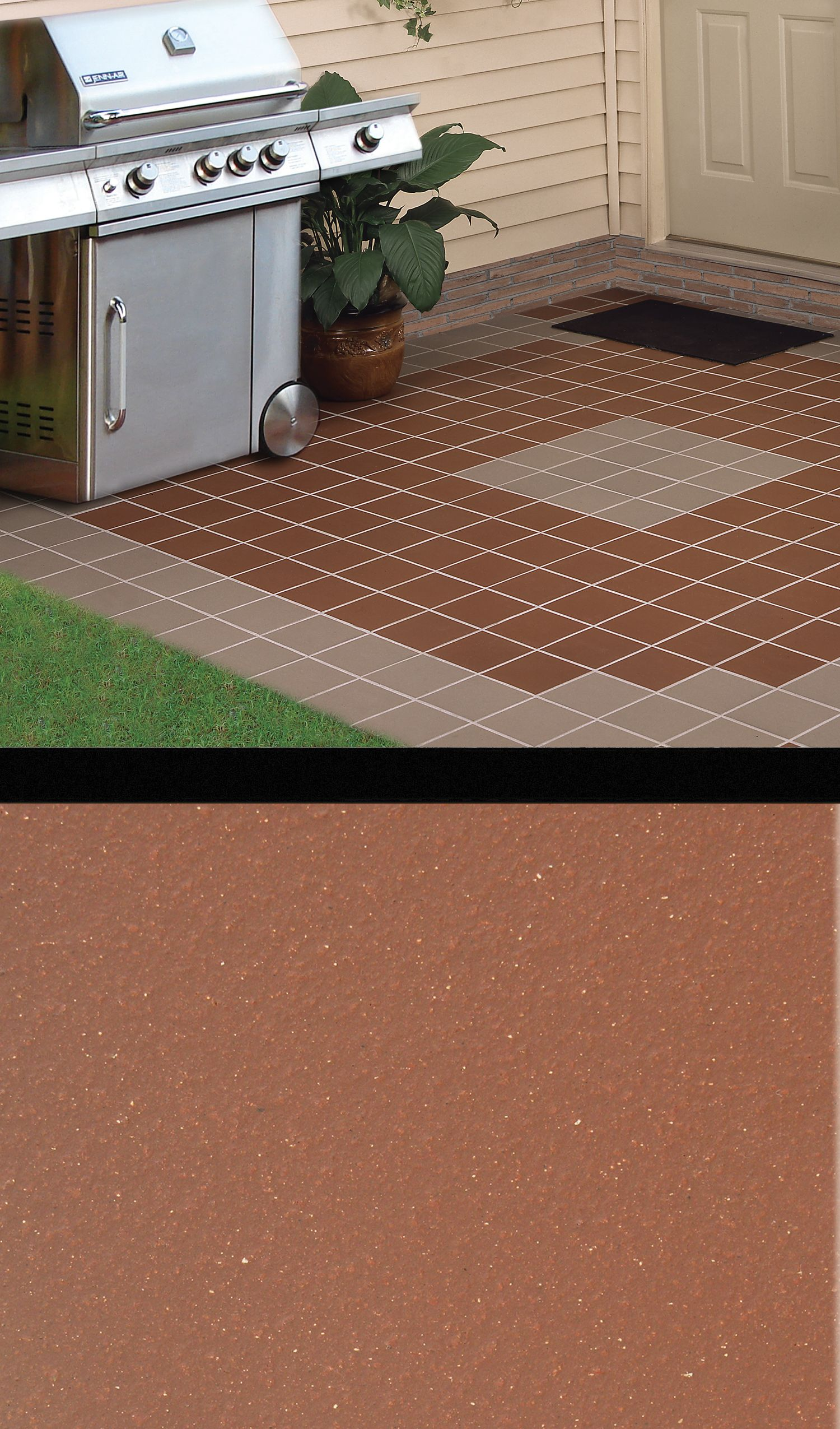 Create the look you want where you want with versatile quarry floor made from a mixture of natural ingredients including clays and shales these ceramic quarry tiles resist stains dailygadgetfo Gallery