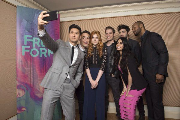 Shadowhunters cast at the Television Critics Association 2016