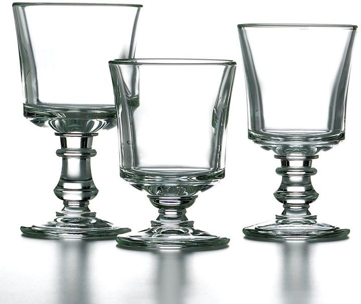 Love the short one (La Rochere Jacques Coeur Historic glassware)