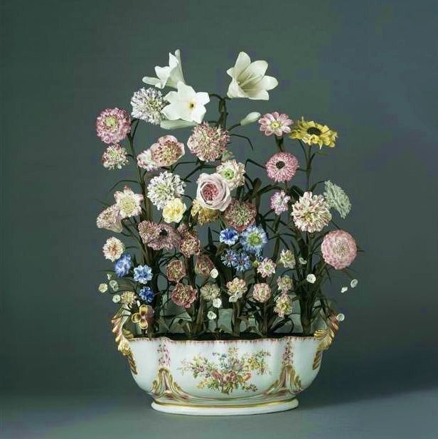 Rococo Revisited Porcelain Flowers Flowers Bouquet Flowers