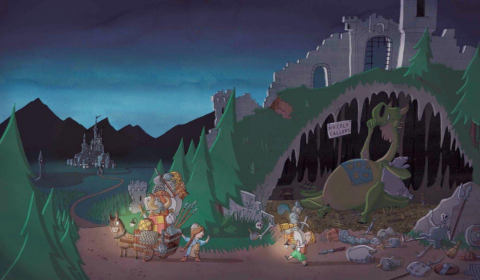 Flamethrottle's cave