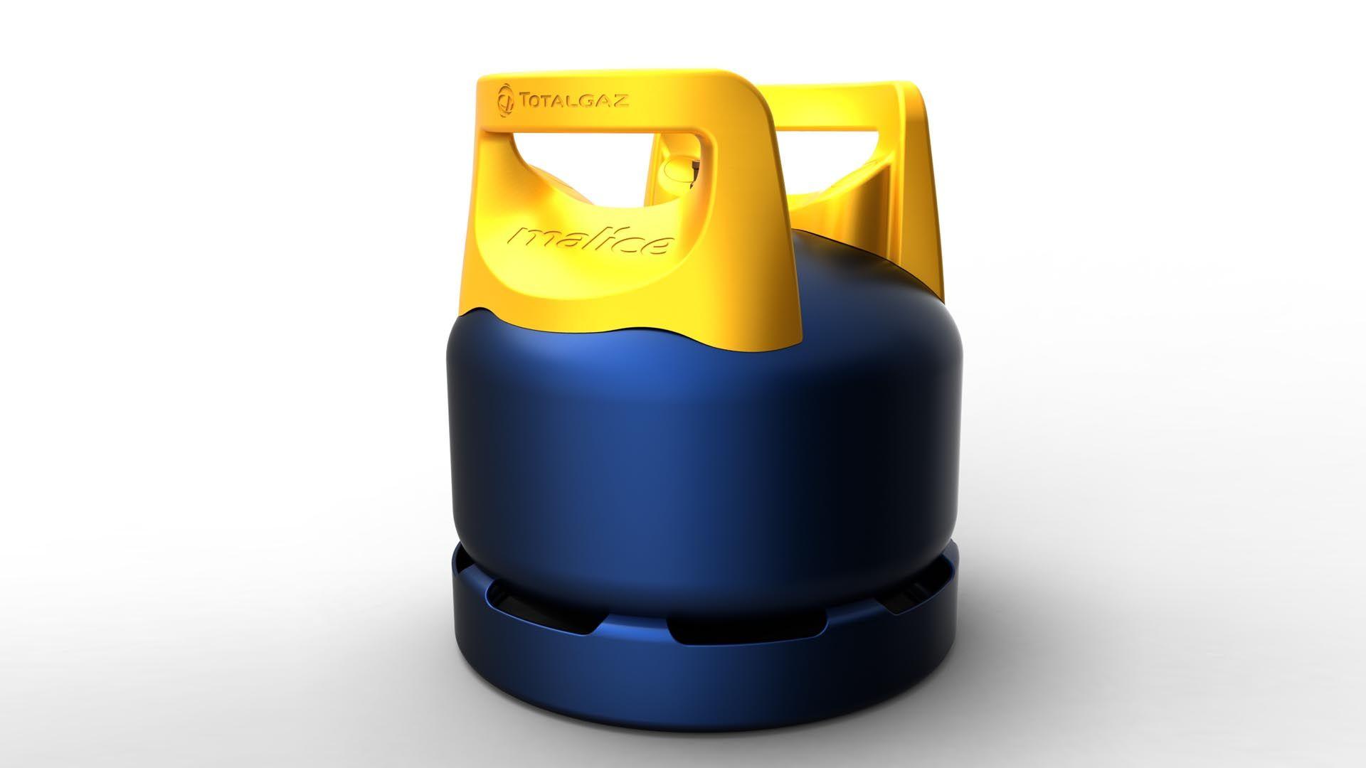 gas cylinder malice totalgaz diedre design diedre. Black Bedroom Furniture Sets. Home Design Ideas