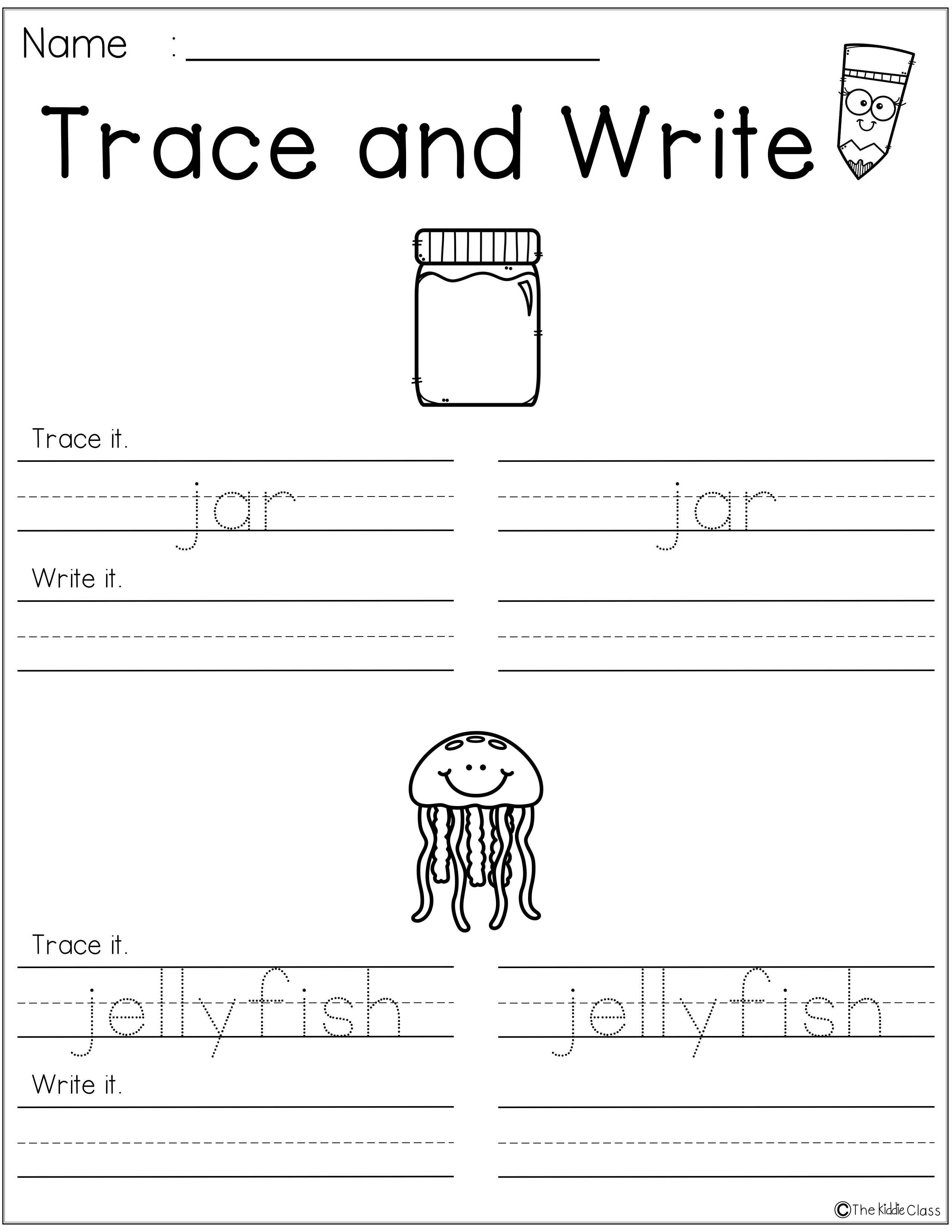 Letter Of The Week J Is Perfect For The Beginning Of The Year In Preschool Or Kindergarten Students Teaching First Grade Kindergarten Workbooks Help Teaching