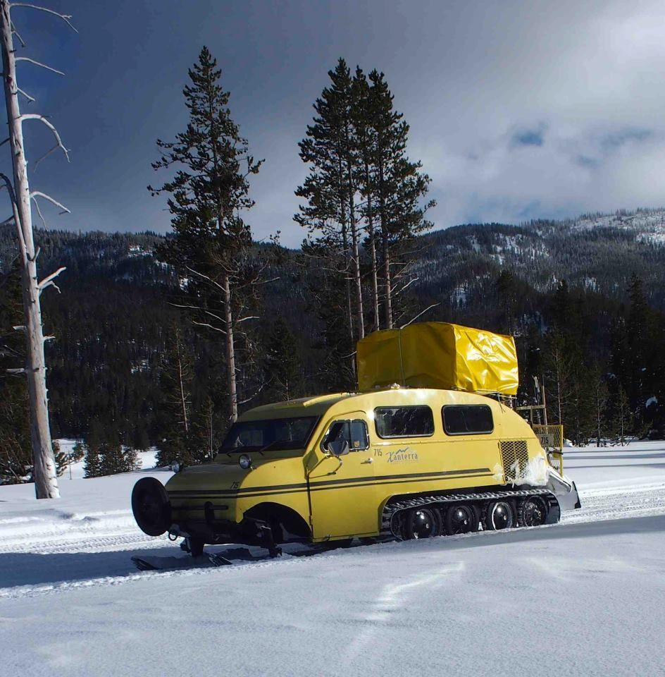 Tucker sno cat for sale craigslist - The Vintagent Another Kind Of Vintage 1967 Bombardier R12 Sno Cat Which