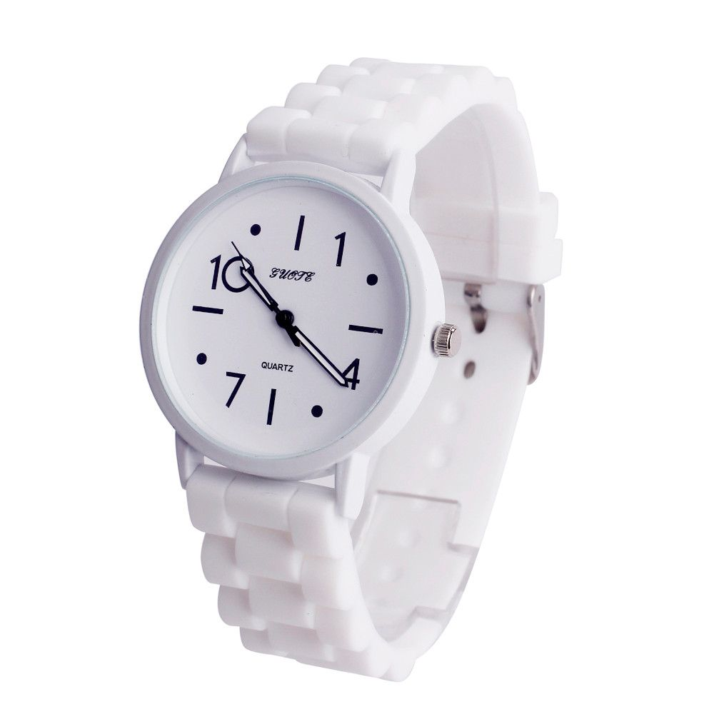 $2.12 (Buy here: http://appdeal.ru/4a7s ) Fabulous Women's Fashion Silicone Rubber Jelly Gel ladies watch Quartz Casual Sports Wrist Watch Jewelry & Watches Apr25 for just $2.12