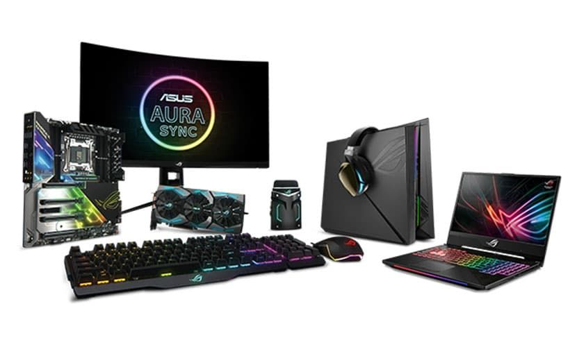 Share Your #AURASync RGB Picture and Win ROG Strix Fusion