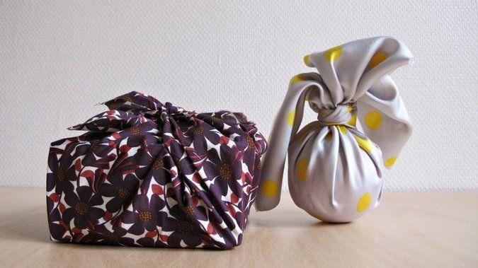 l art du furoshiki m6 japan paquet cadeau original. Black Bedroom Furniture Sets. Home Design Ideas