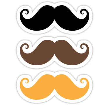 Mustache Collection Black Brown And Blond By Mhea Mustache A Hat In Time Mustache Birthday Party