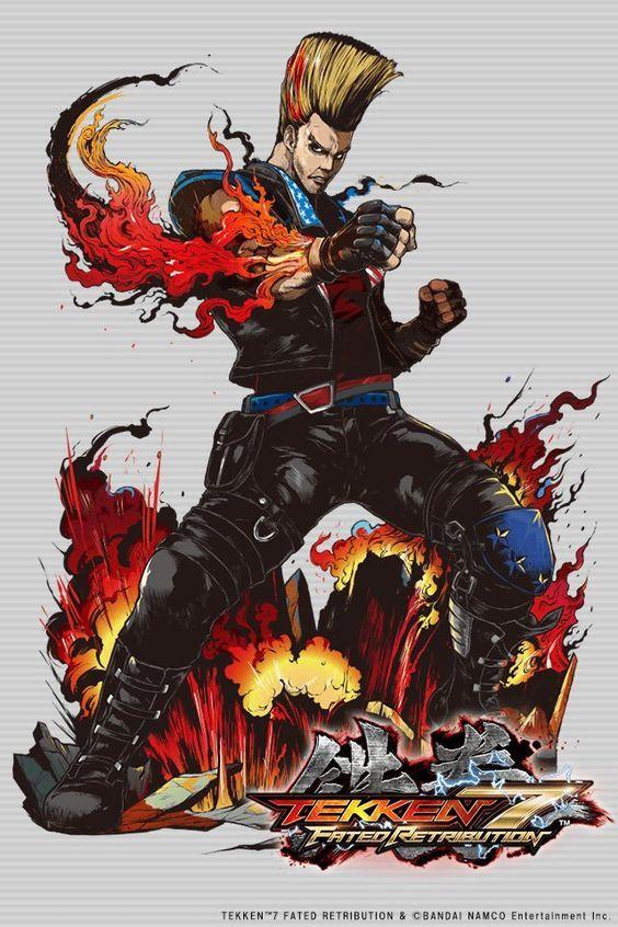 Paul Phoenix Tekken Ft Jbstyle Anime Lutador