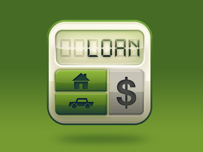 lovely loan calculator icon for iphone icons loan calculator