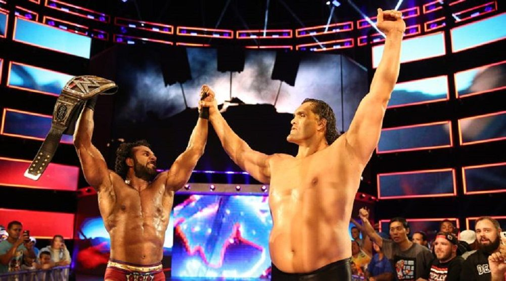 The Great Khali was reportedly brought back to WWE to help get Jinder Mahal over more with the fans in India....