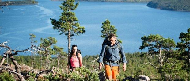 Zum Wandern ist Schweden ideal - Natur pur