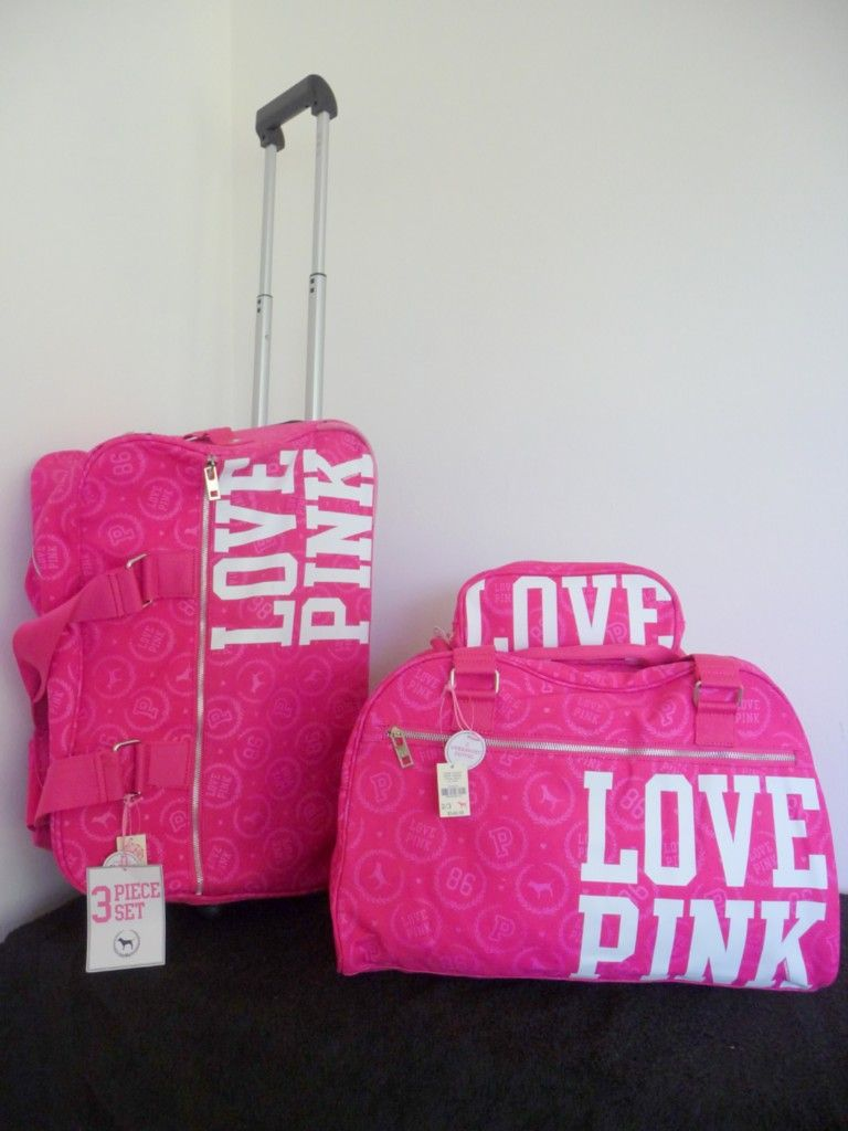 victoria secret luggage - Google Search | jewelry and accessories ...