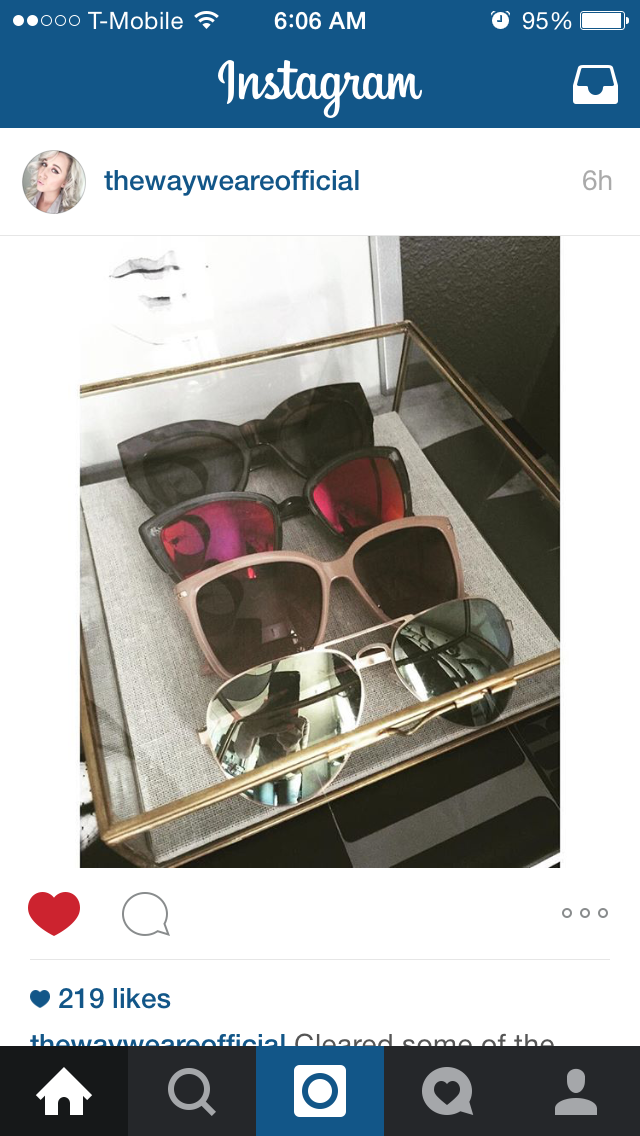 Definitely need a case like this for my sunglasses