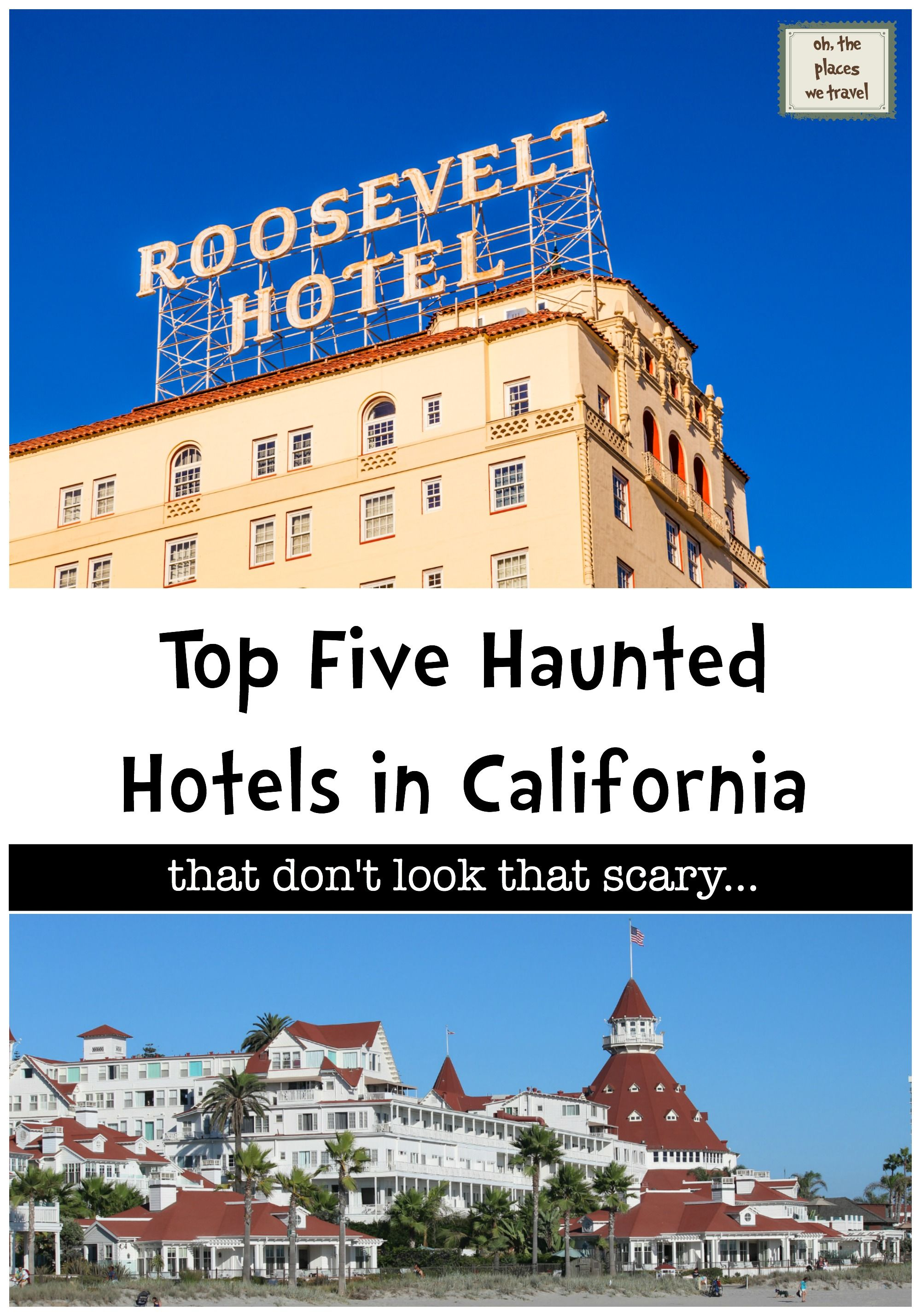 5 haunted hotels to visit in california. although they don't look