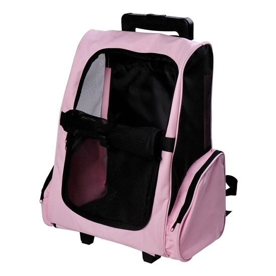 Pawhut Pet Carrier Wheeled Dog Backpack Products Pet Carriers