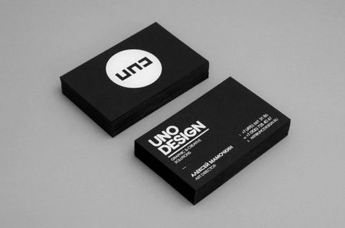 20 Creative Business Card Design Uno Design With Images Fun