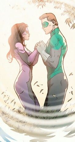 hal jordan and carol ferris relationship goals