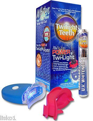 uv light teeth whitening kit no rinse home teeth whitening and. Black Bedroom Furniture Sets. Home Design Ideas