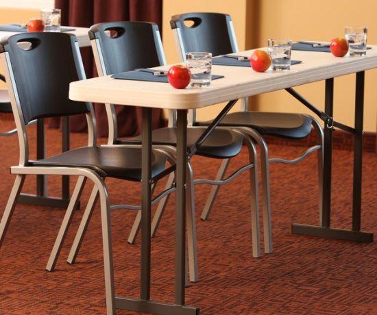 Folding Seminar Tables Lifetime Tables 6 Ft 80176 White Granite