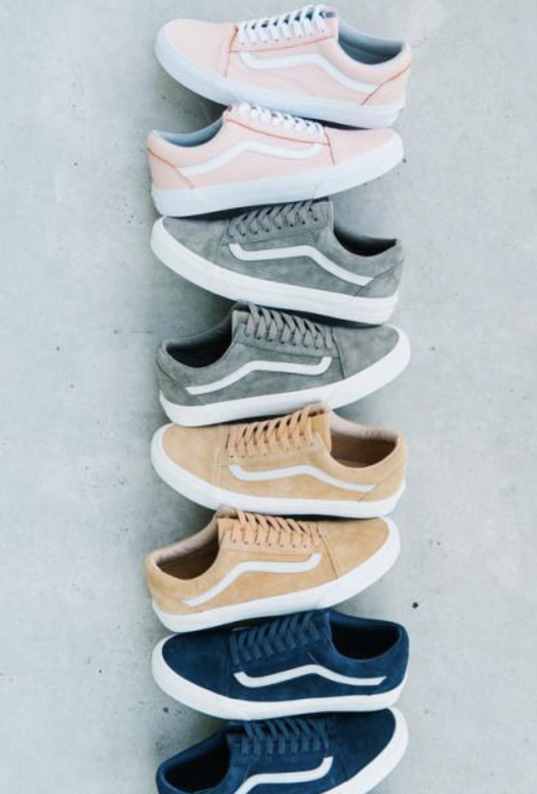 vans old skool fuzzy suede sneakers #ootd #shoes | Vans old