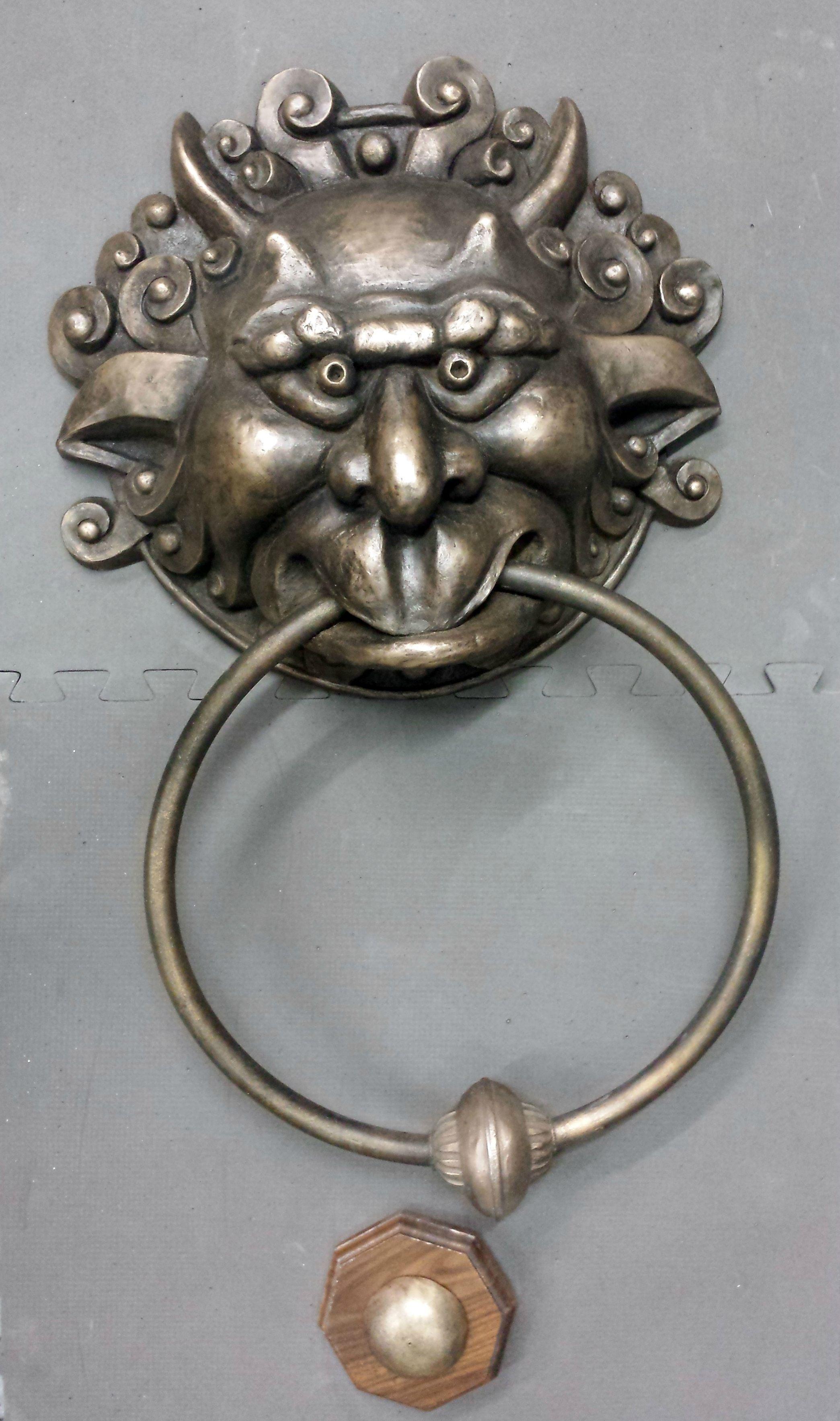 Labyrinth Door Knocker | DIY | Labyrinth door knockers ...