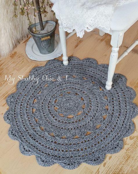 Teppich Shabby teppich anouk grau 100 schurwolle diy design